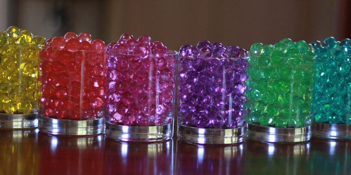 collection of water beads