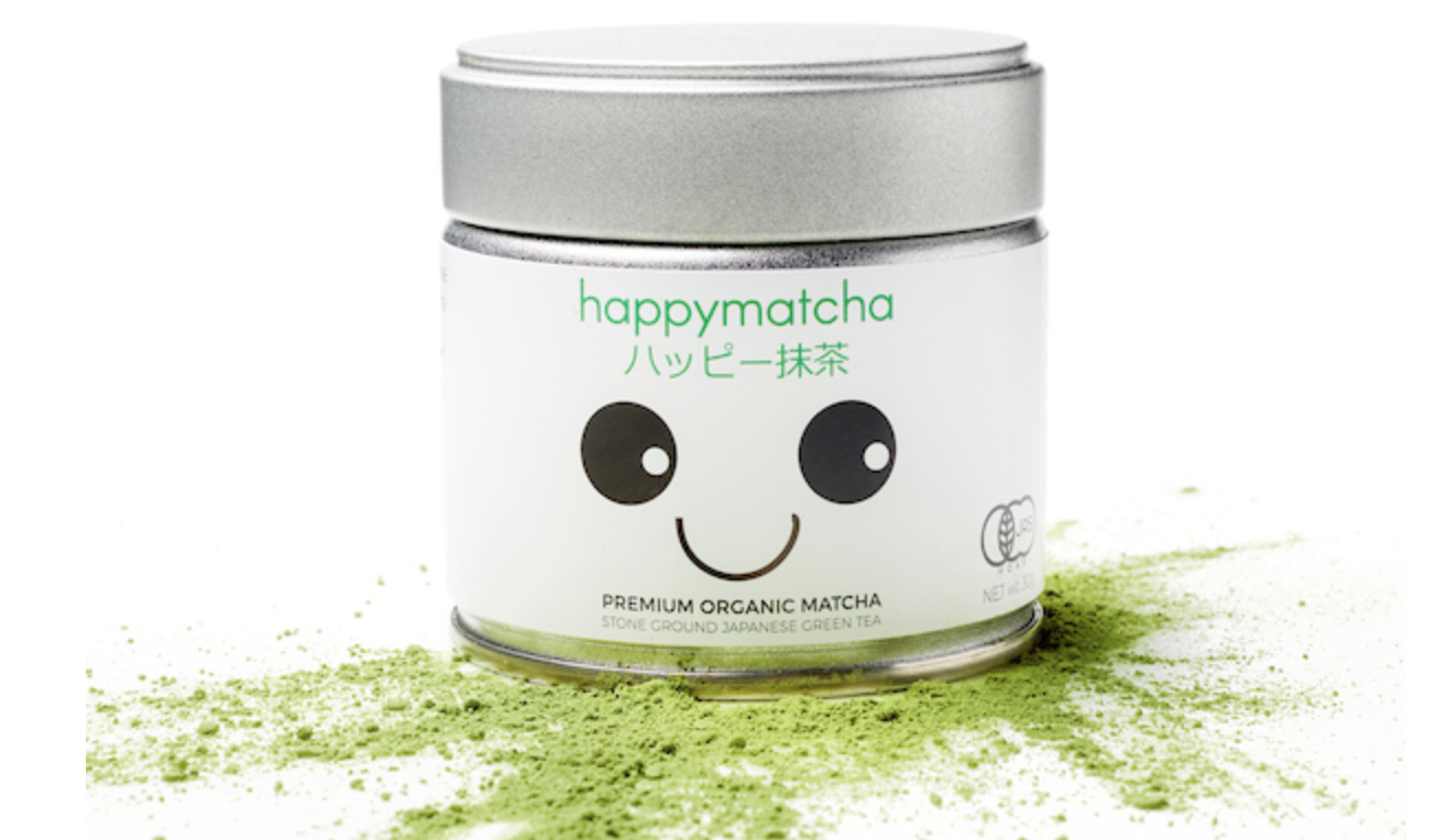 happy matcha packaging